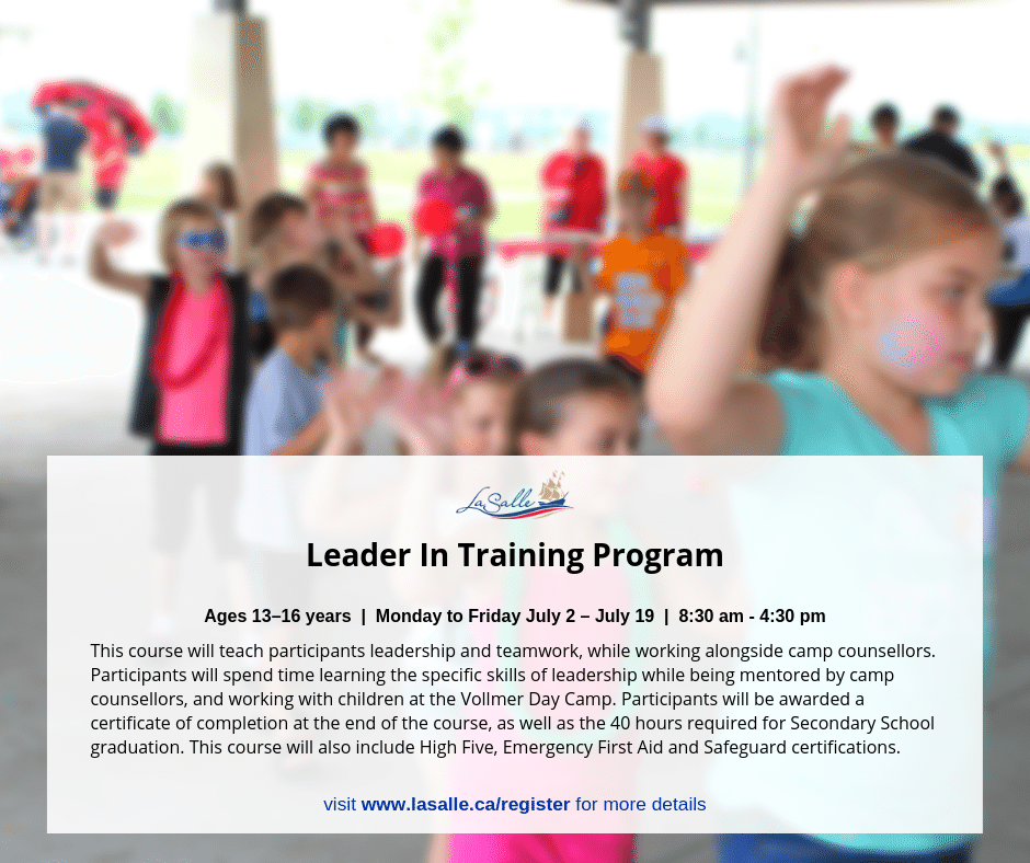 Leader In Training Program
