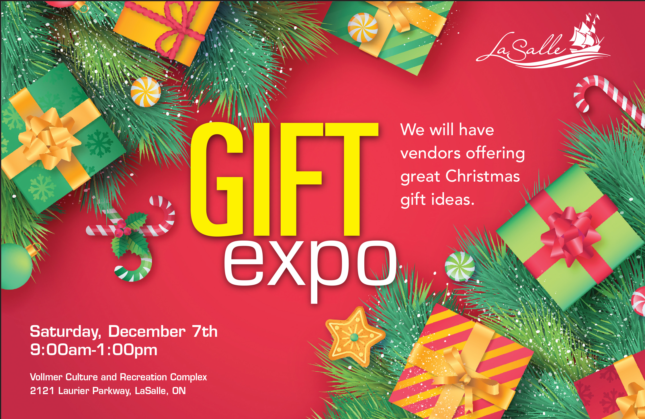 Holiday Gift Expo Flyer