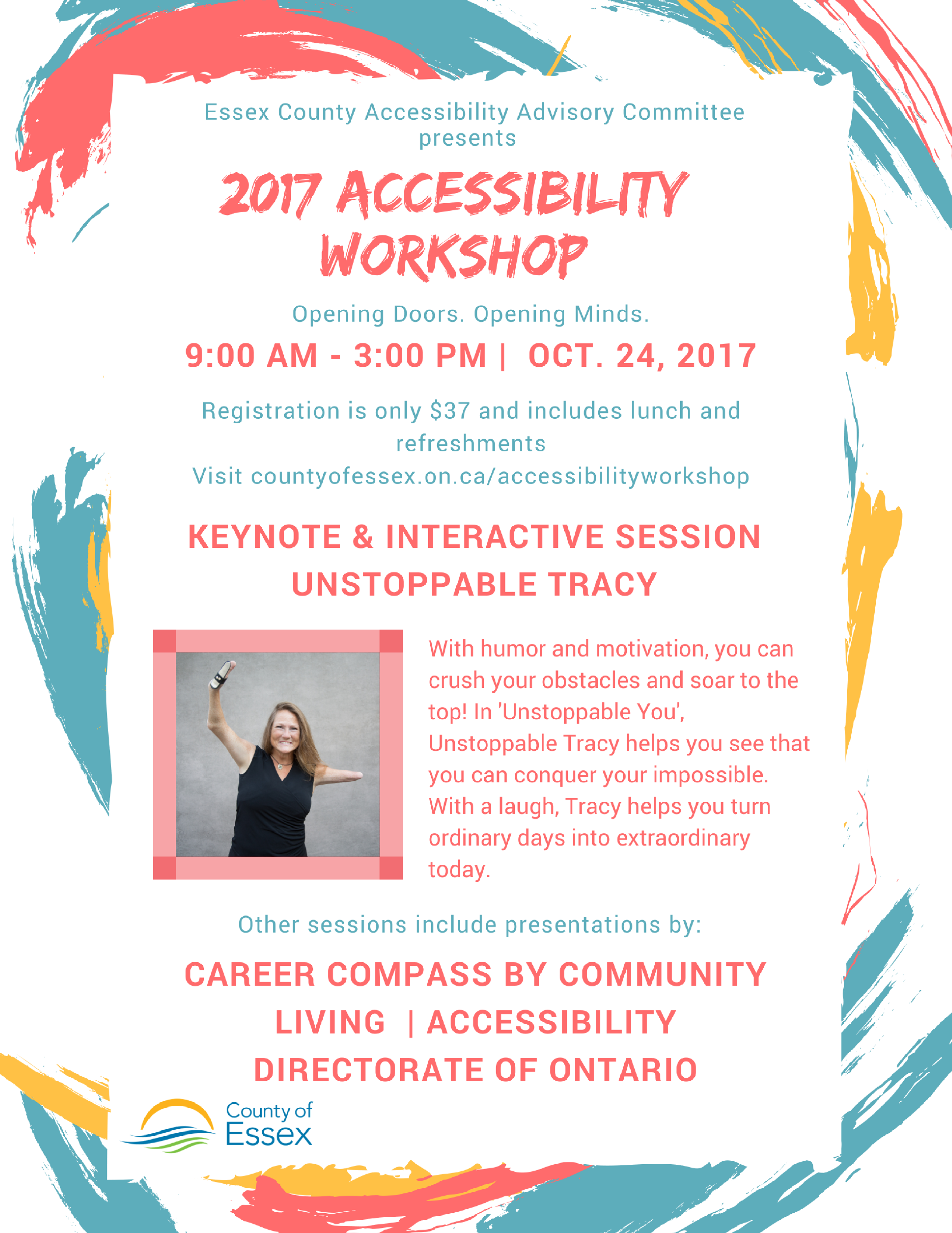 Accessibility Workshop Poster
