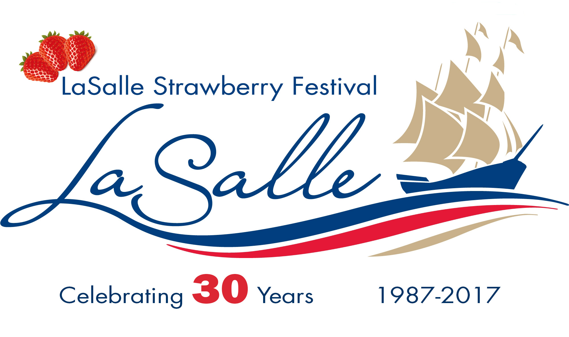 LaSalle Strawberry Festival Logo