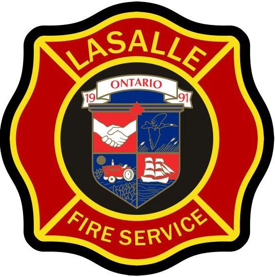 LaSalle Fire Service Logo