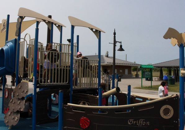 Playground at the Vollmer Complex