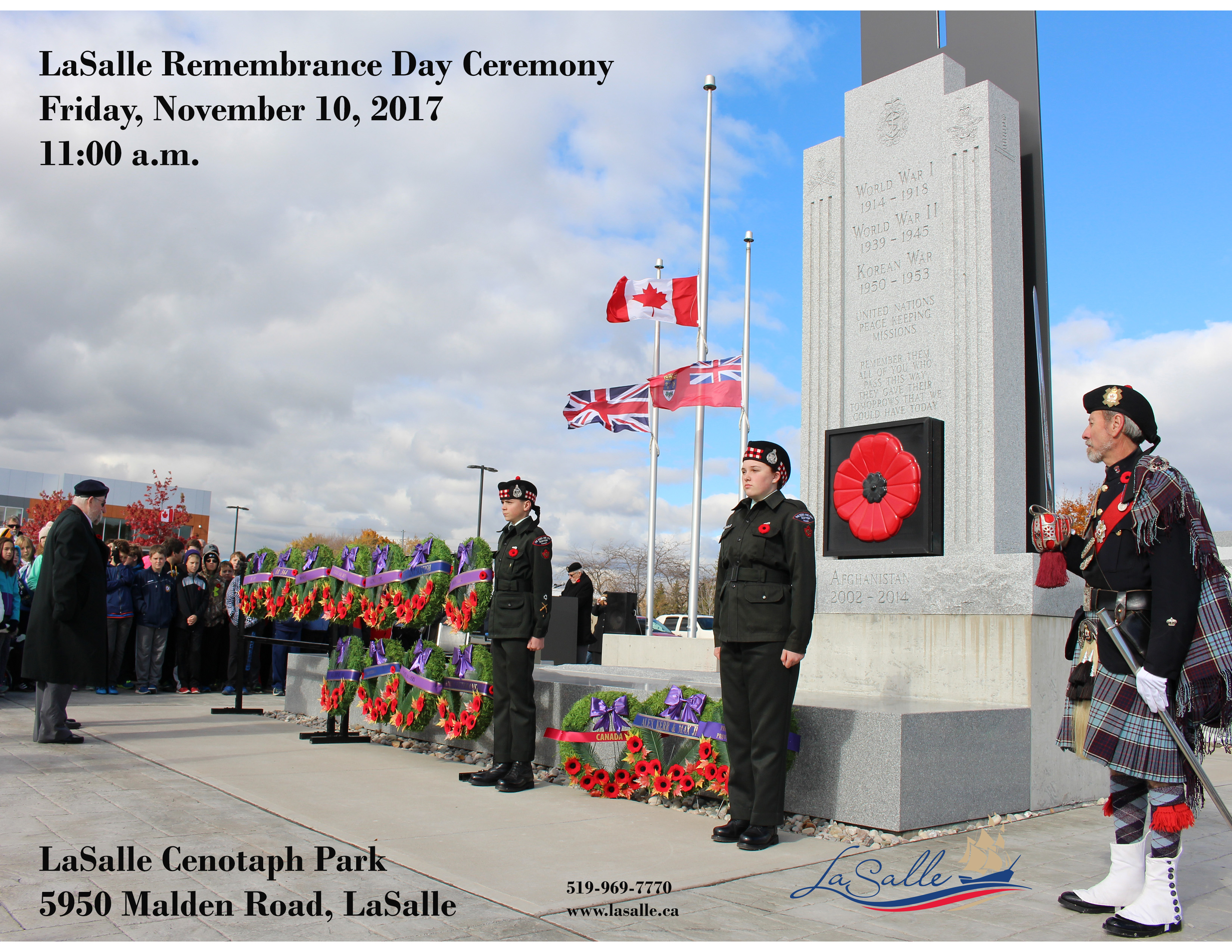 Remembrance Day Flyer 2017