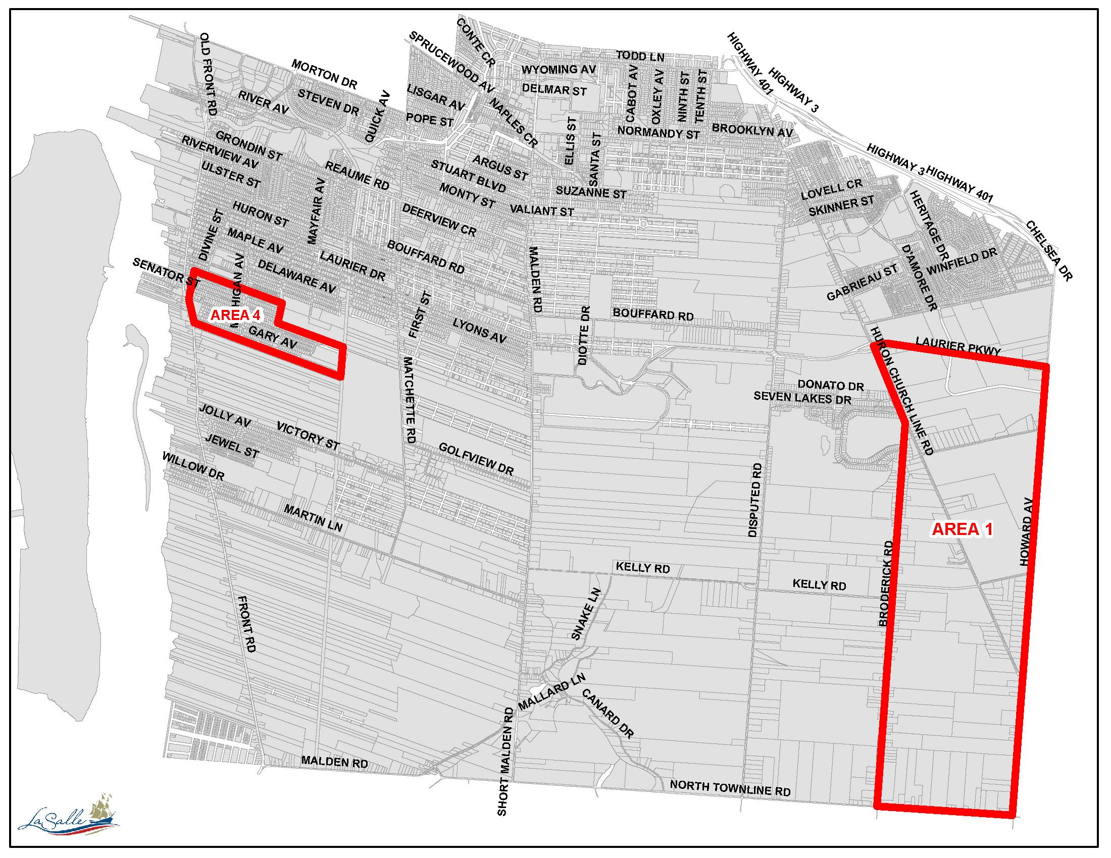 LaSalle Hydrant Maintenance Map