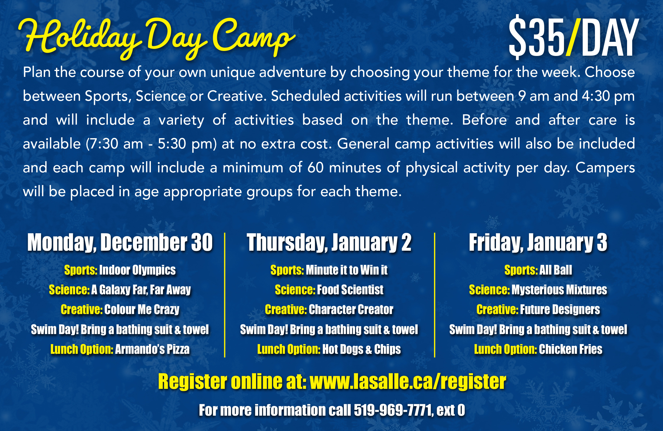 Holiday Camp in LaSalle