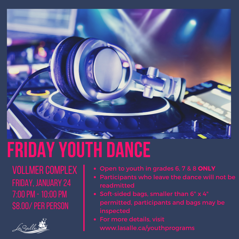 Friday Youth Dance Flyer
