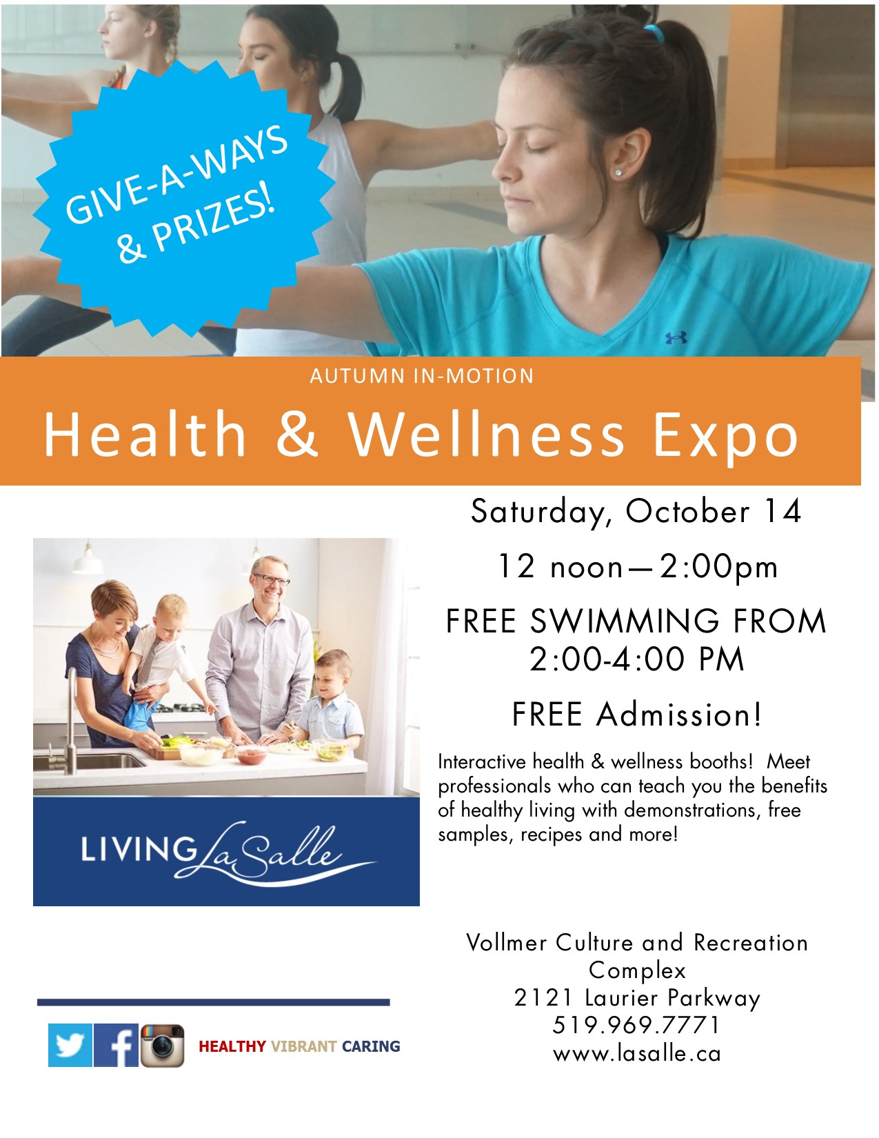 Health & Wellness Fair Flyer