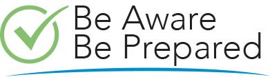 Be Aware Be Prepared Logo