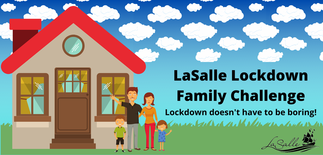 LaSalle Lockdown Challenge Graphic