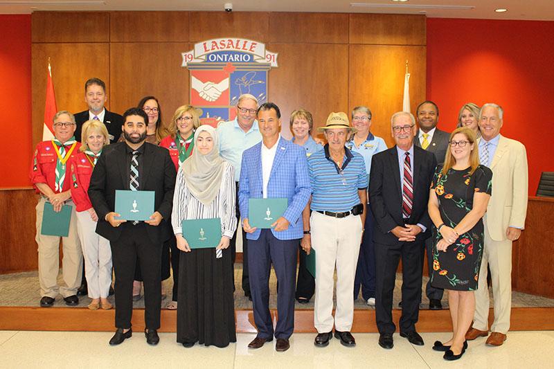 2018 Volunteer Recognition Recipients
