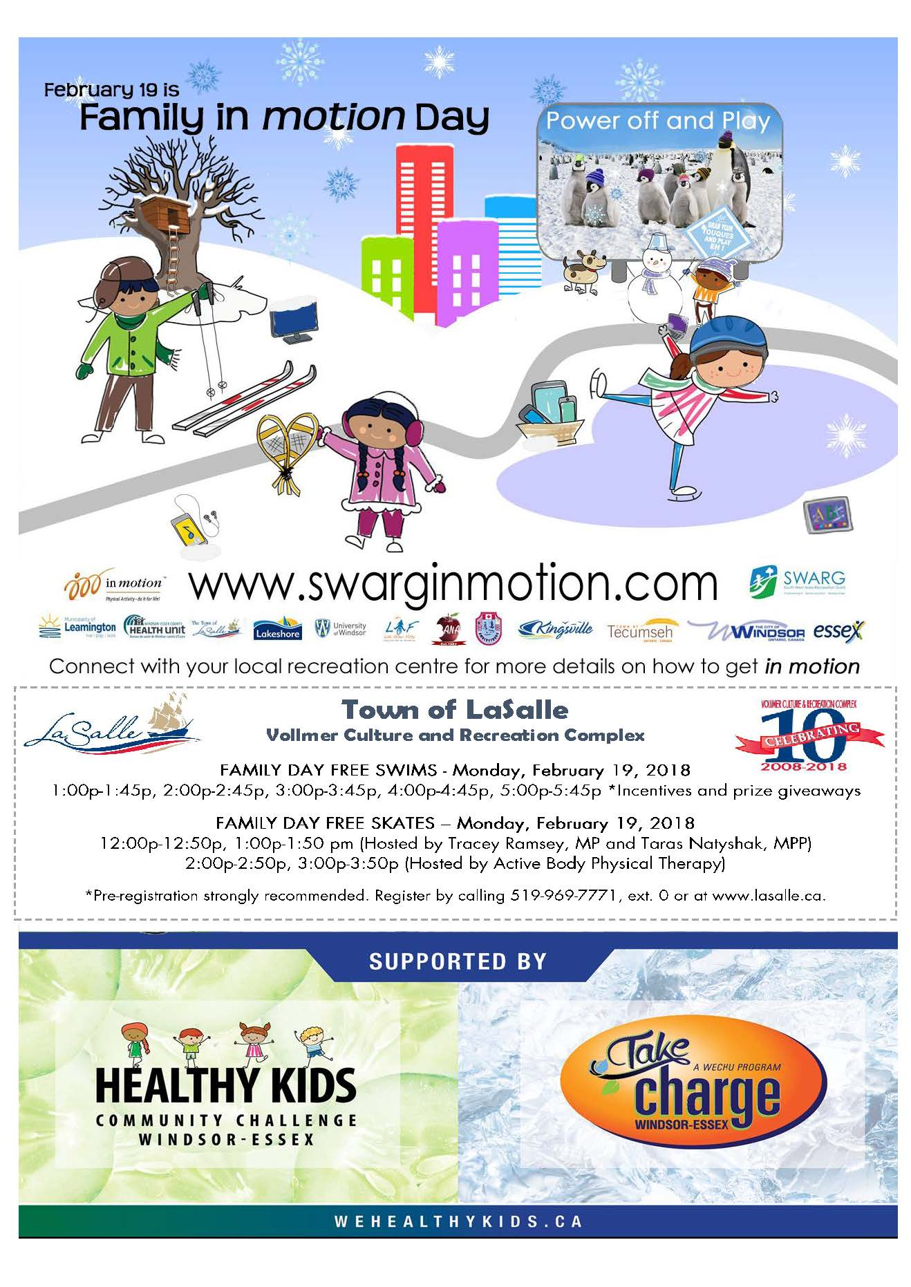 Family Day 2018 Flyer