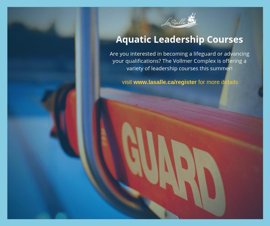 Aquatic Leadership Classes