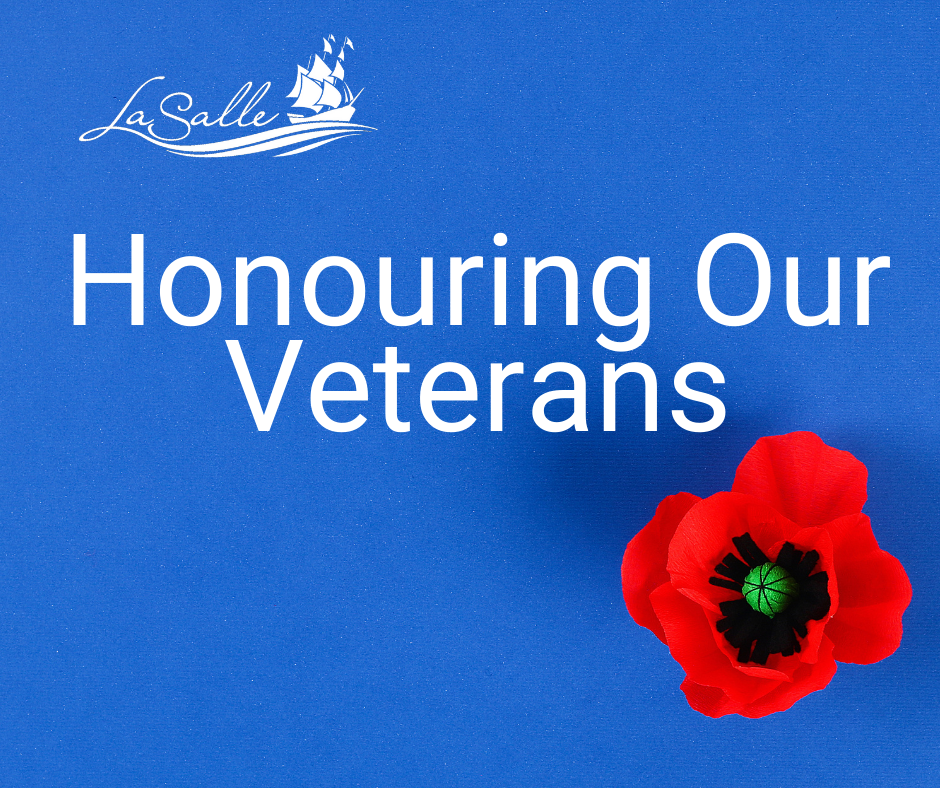 Honouring our Veterans Graphic