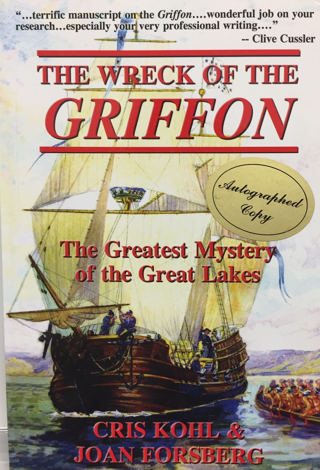 The Wreck of the Griffon Book Cover
