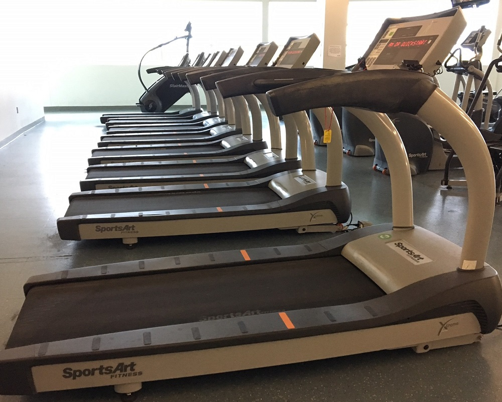 Treadmills at the Vollmer Complex